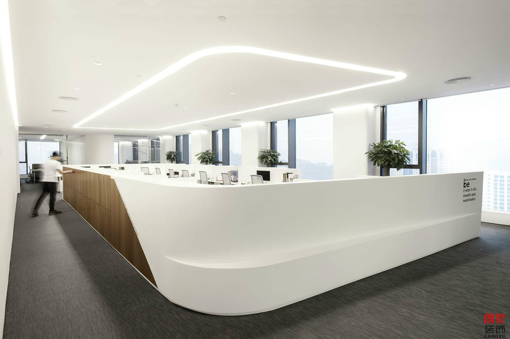简约大气办公室装修设计案例