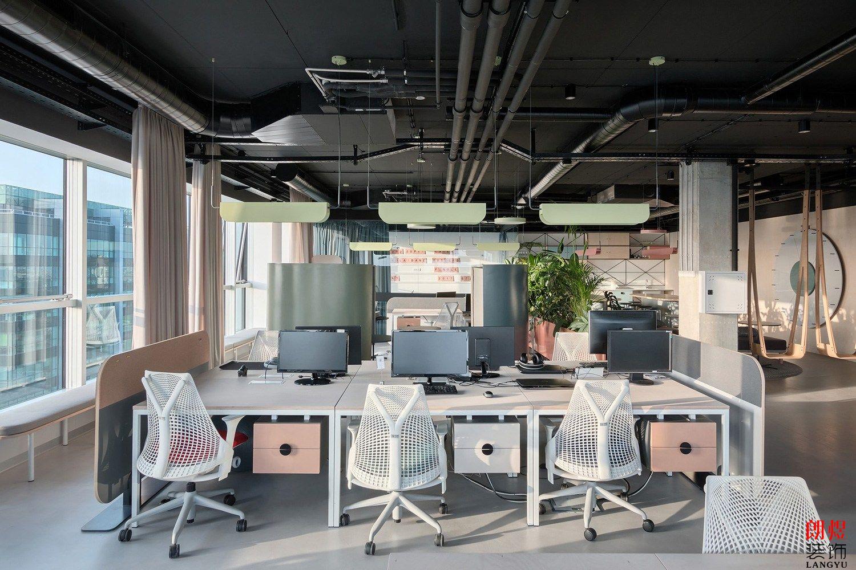 混搭风办公室装修案例