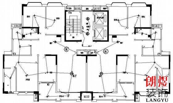 115平的办公室请人设计水电走线要多少钱
