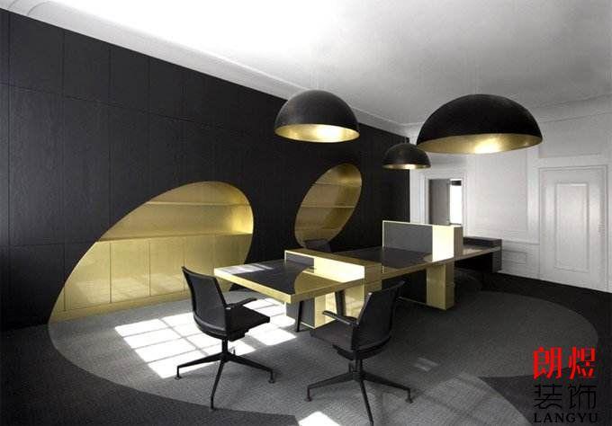 成都办公室装修个性化办公区效果图