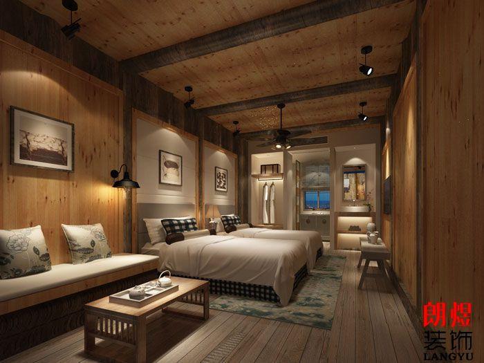一家酒店装修一般要多少间房间才行?