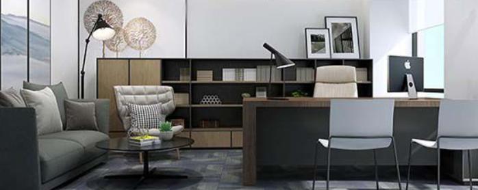 小空间办公室能做出大公司全场?