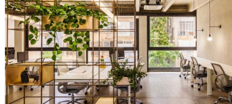 打造绿色办公室装修设计_办公室装修效果图_10