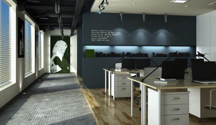 成都公装公司_成都办公室装修公司_行政办公室装修效果图
