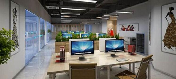 打造绿色办公室装修设计_办公室装修效果图_7