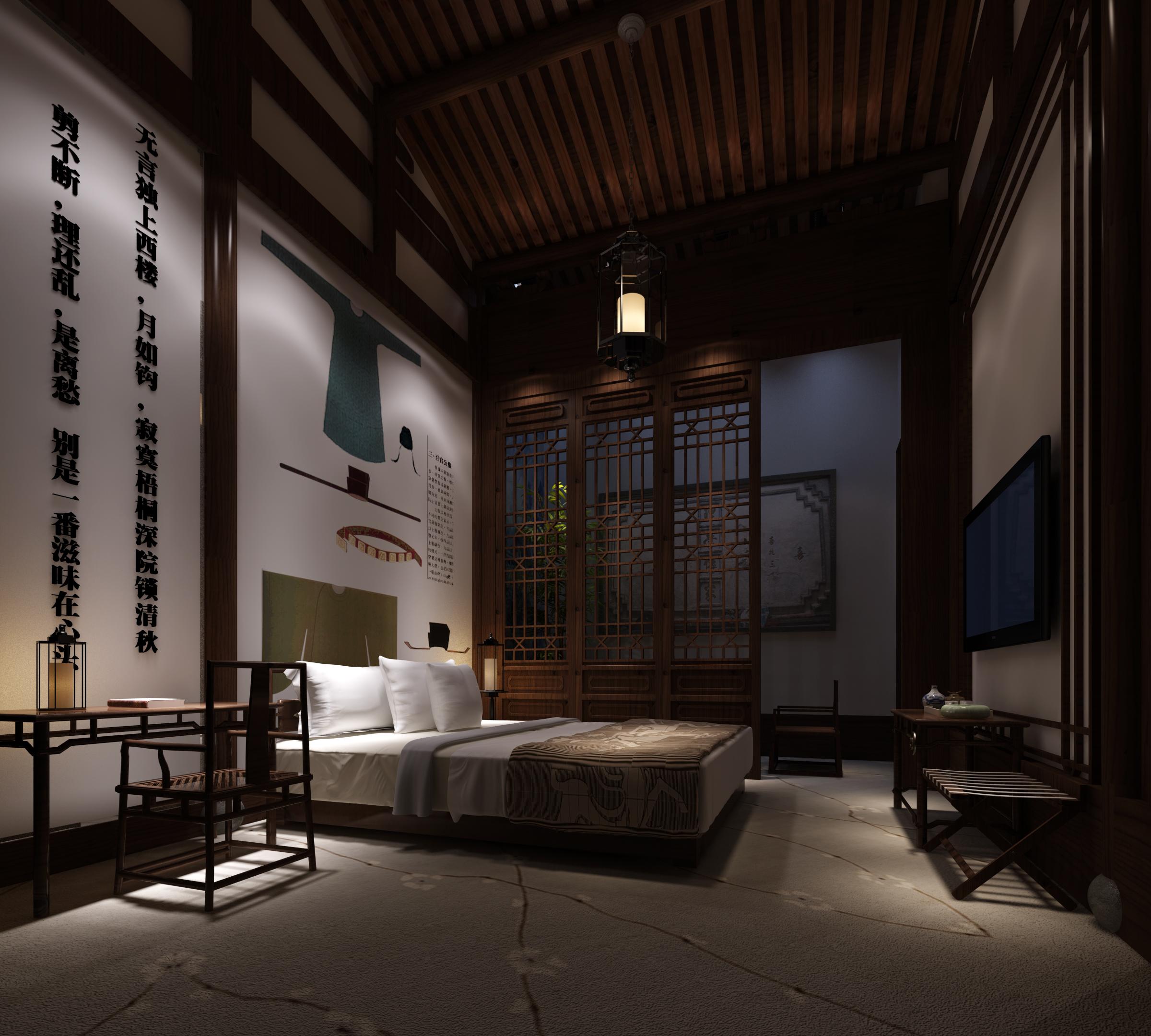 工装公司是这样装修酒店餐厅的酒店装修效果图_宋代风格