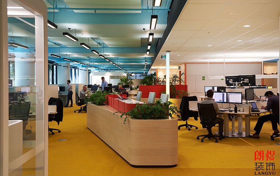 成都办公室装修实景效果图