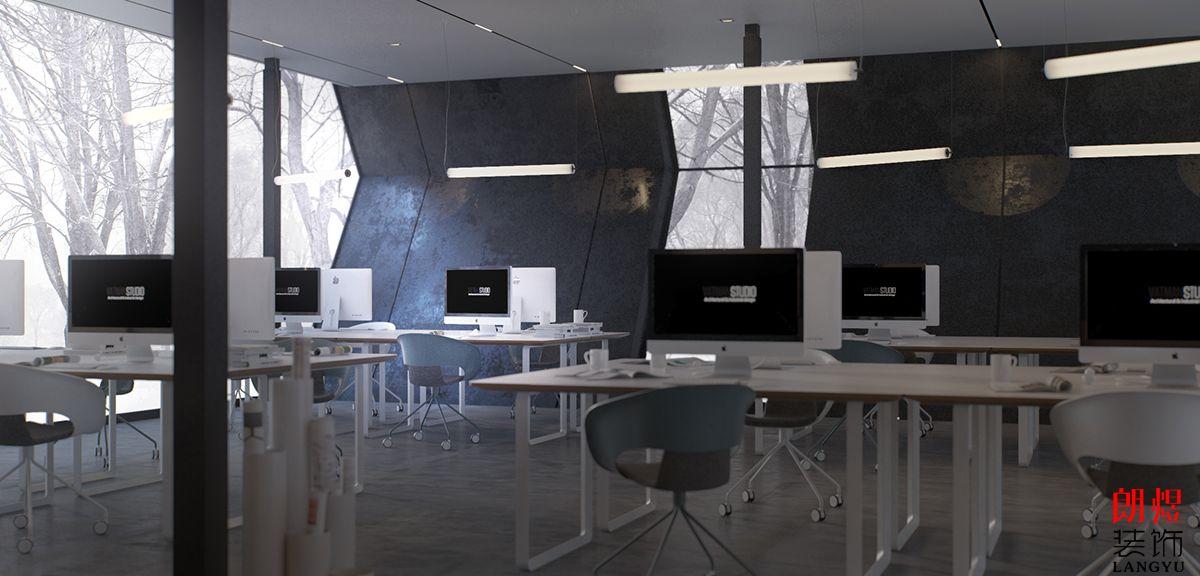 成都公装公司_办公室装修效果图