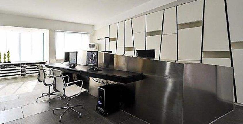 乳胶漆办公室装修效果图