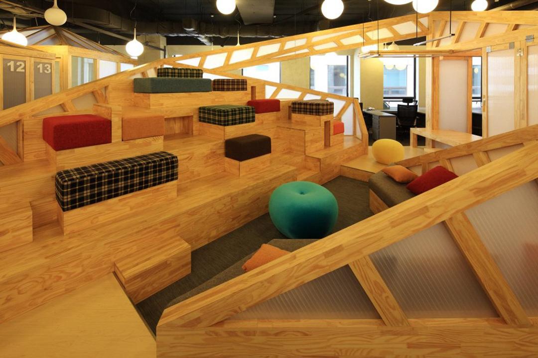 成都公装公司,软件公司办公室装修效果图