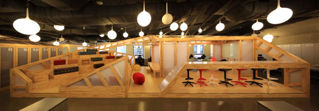 实木休闲创意办公室设计