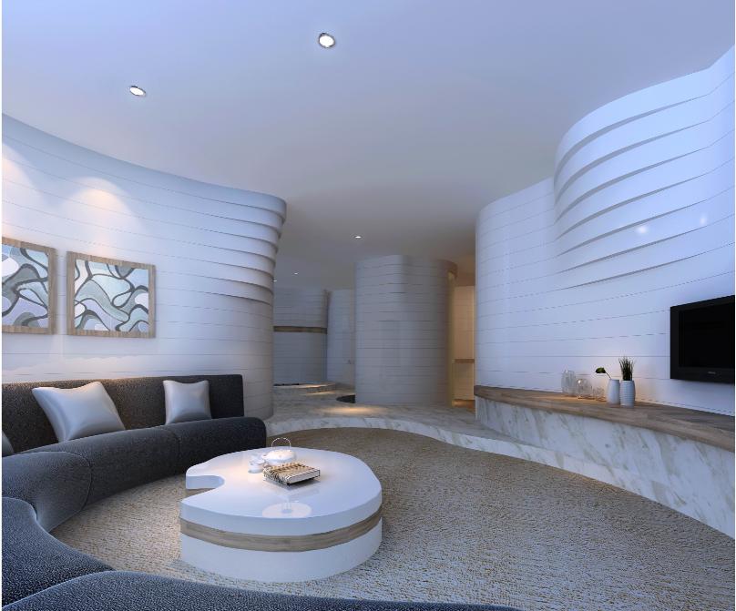 湖南灰汤华天城国际会议中心酒店装饰设计(网上资料)