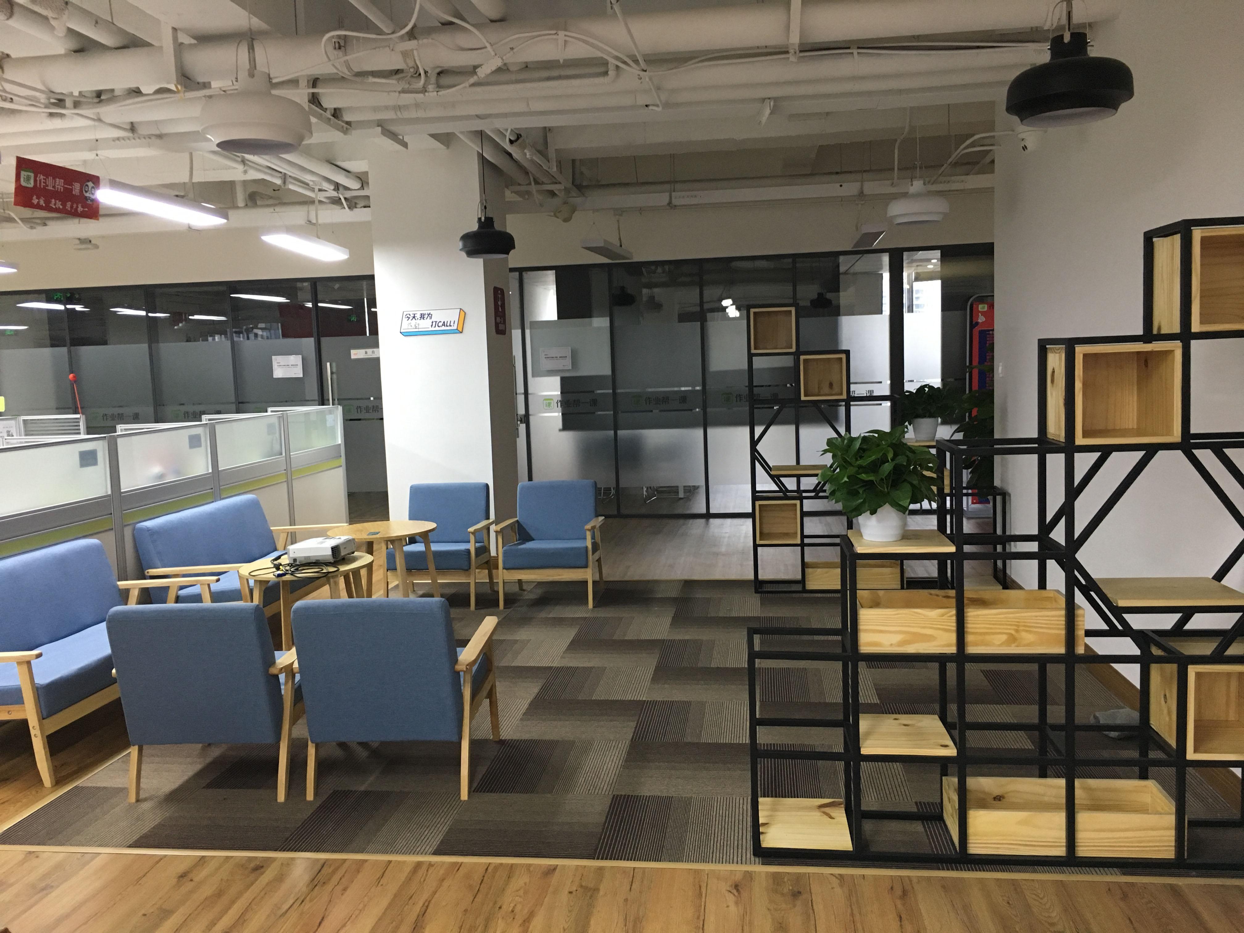 成都阳光新业中心简约风格办公室装修