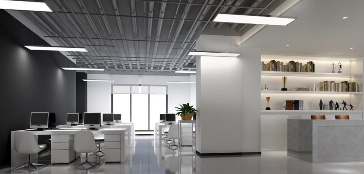 受欢迎成都市教育辅导机构办公室装修效果图鉴赏