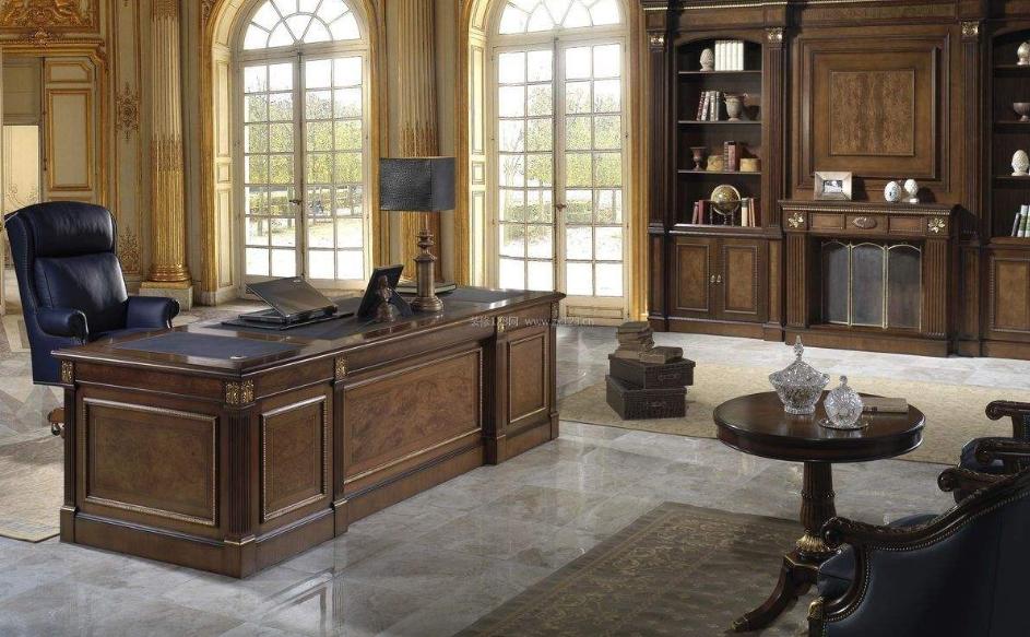有气质的成都简欧风格总裁办公室装修效果图鉴赏