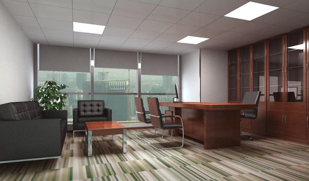 大气的成都配搭式设计风格老板办公室装修效果图鉴赏