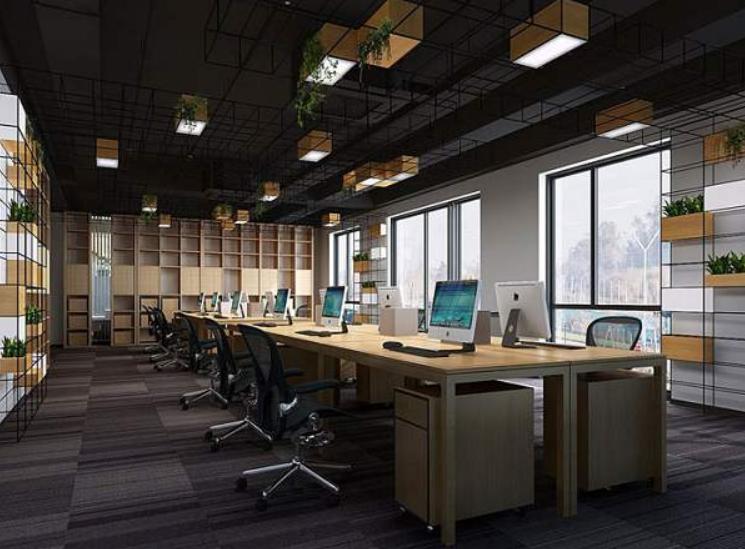 成都现代式设计风格办公室装修效果图欣赏