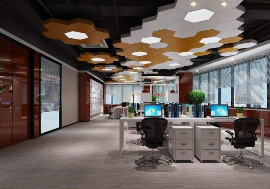 成都引领时尚型办公室装修效果图欣赏