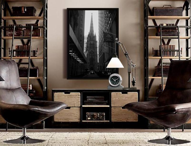 成都抒情性设计风格私人办公室装修效果图欣赏