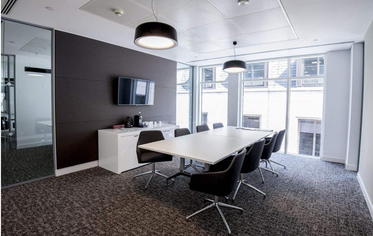 成都小型办公室接待室装修效果图鉴赏