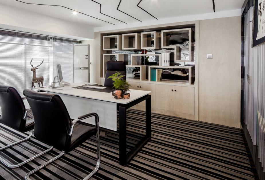 受欢迎的现代式公司老总办公室装修效果图
