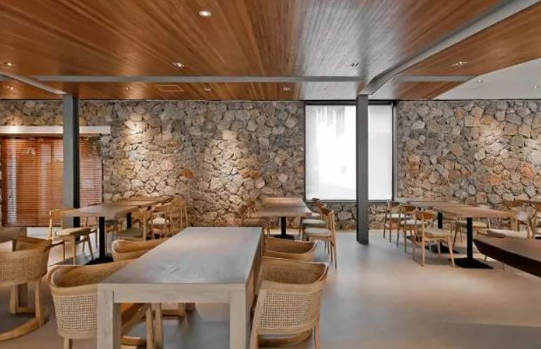 酒店装修设融入到当地自然环境设计装修效果图