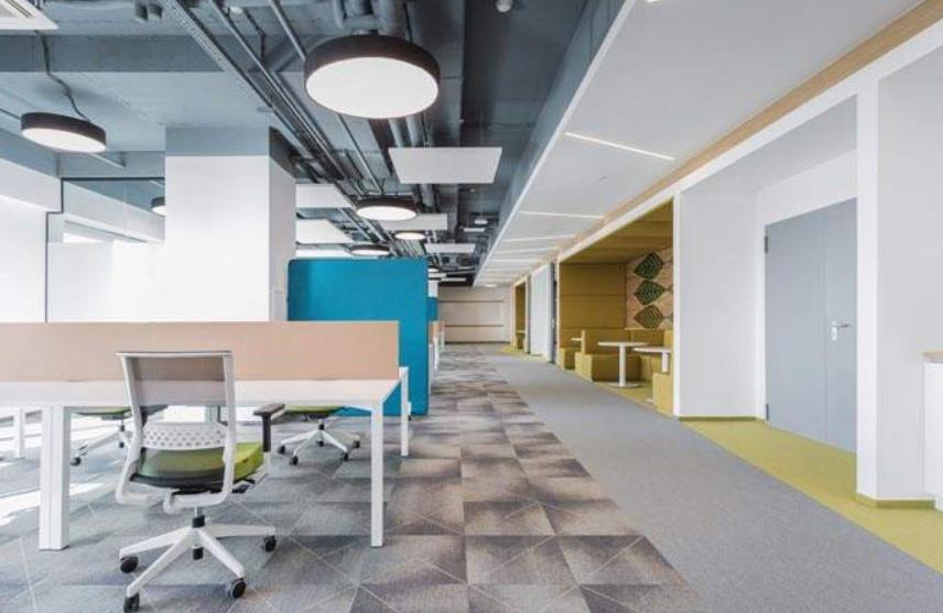 中式办公室装修之重视室内空间设计装修效果图