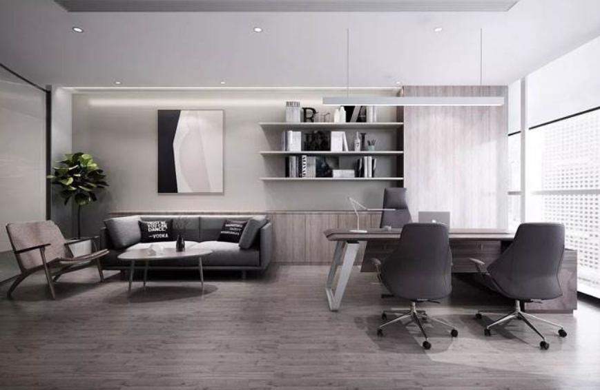 成都工业风格办公室装修效果图