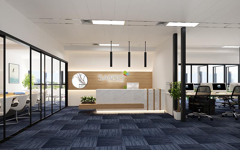 关于800平办公室装修的布置方法讲解