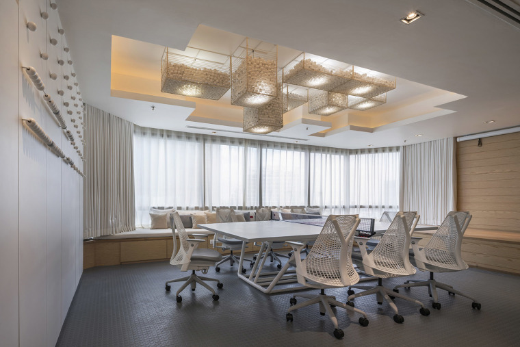 168平米小型办公室装修案例赏析