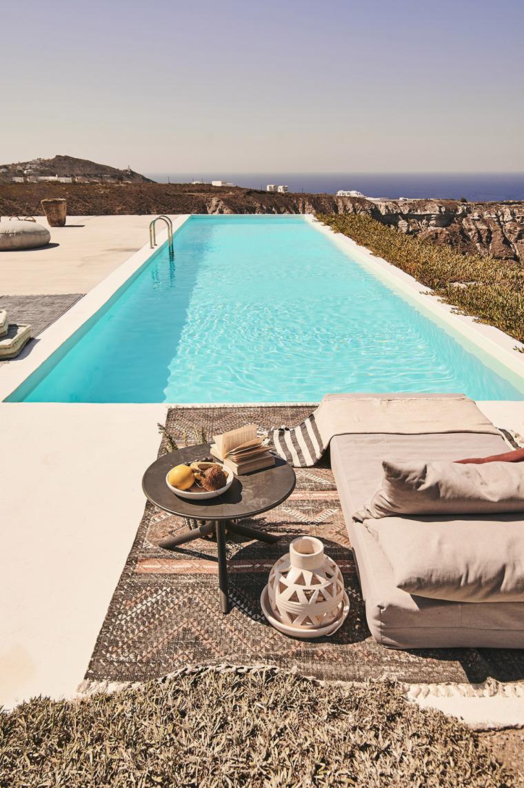 度假酒店装修 - 全景游泳池效果