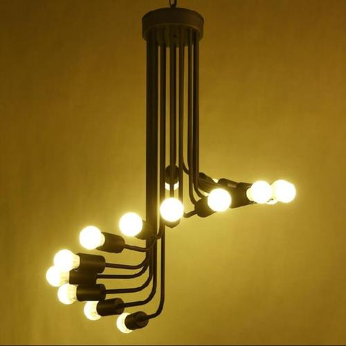 工业风办公室装修 - 灯具图片