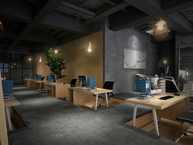 工业风办公室装修 - 家具图片