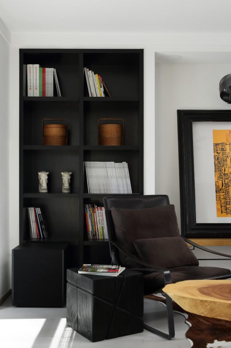 极简风格的小型工作室装修效果