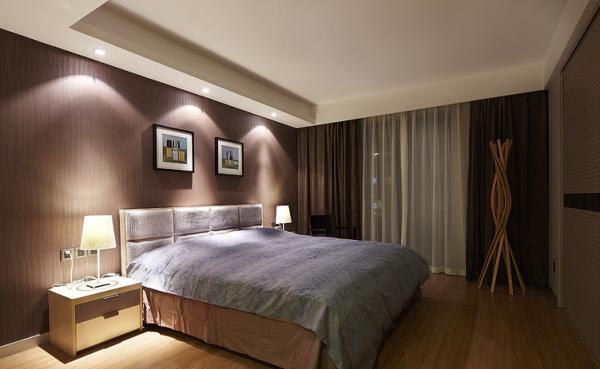 酒店客房装修墙纸效果