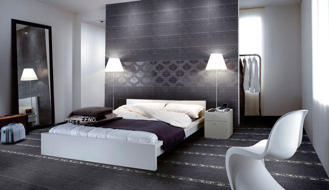 酒店客房装修墙砖铺贴效果