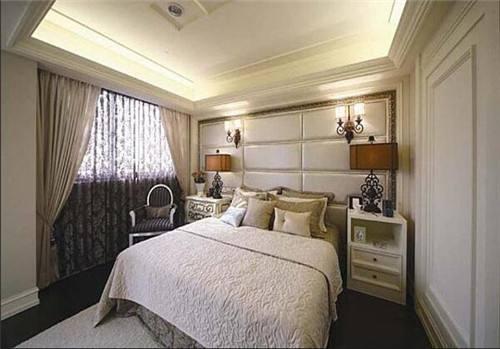 欧式风格酒店客房装修效果图