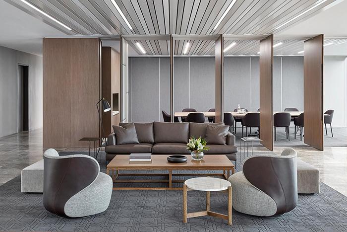 七款高端商务办公室装修效果图欣赏
