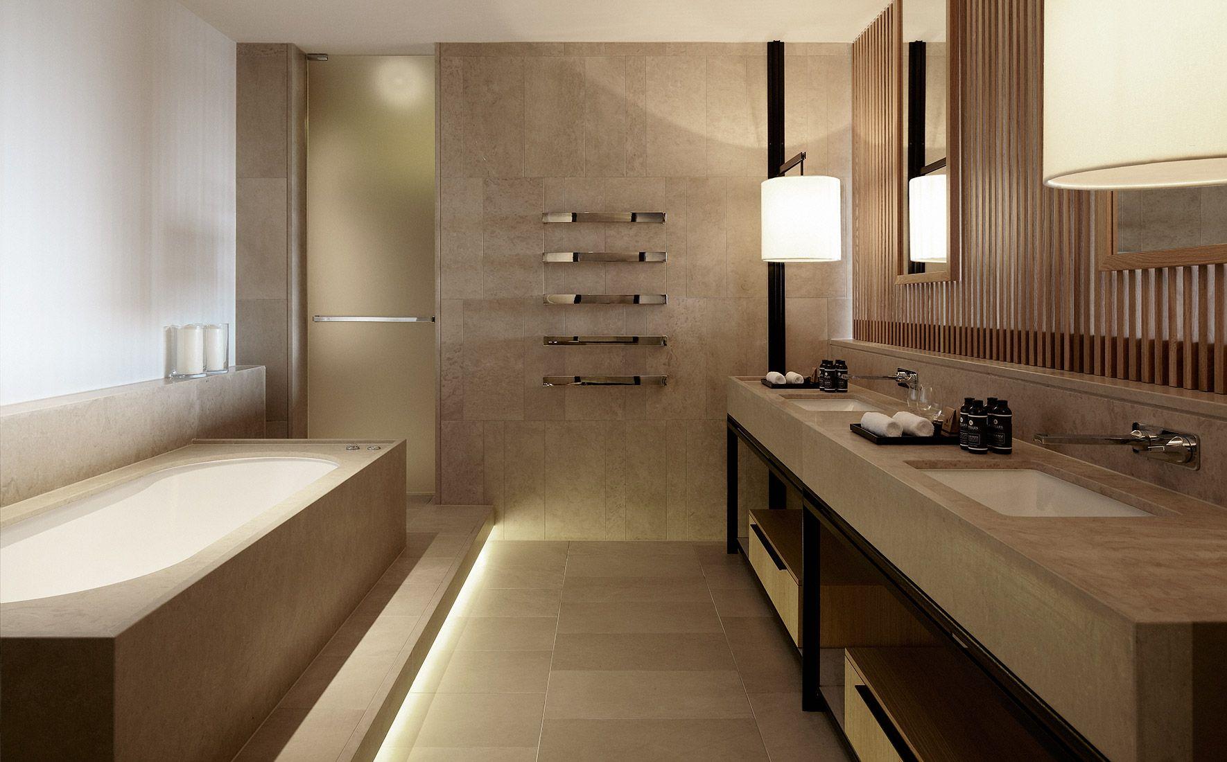 关于装修酒店卫生间的几个设计注意事项