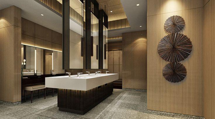 酒店客房卫生间装修效果图