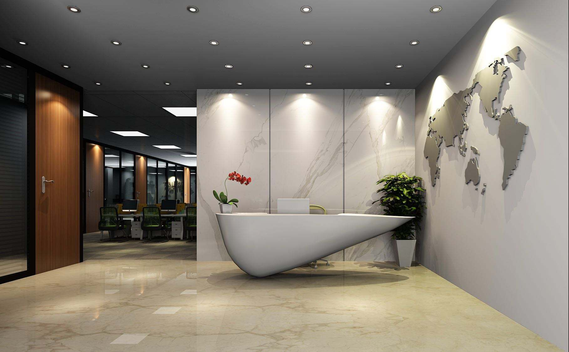 新中式风格办公室装修