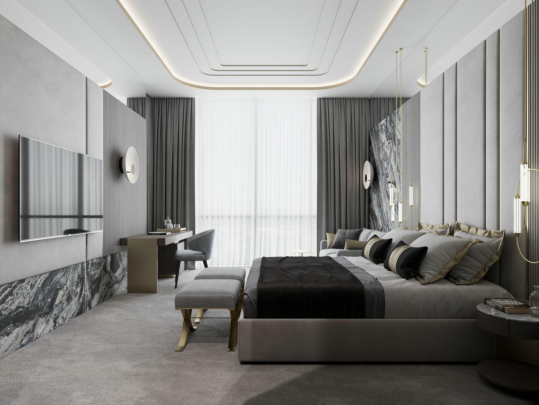 豪华五星级酒店装修设计