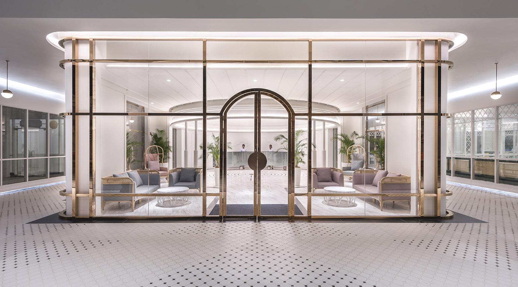 轻奢系观光型酒店装修设计