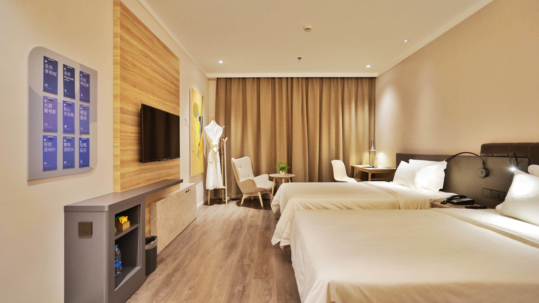汉庭酒店客房装修设计效果图