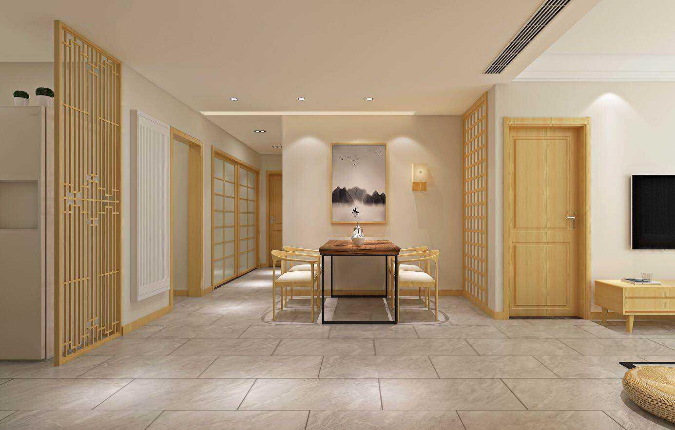 日式酒店装修风格
